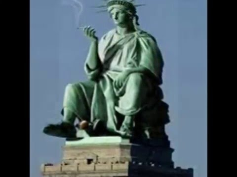 Funny Statue of Liberty