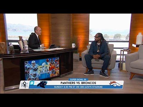 Multi-Platinum Recording Artist Snoop Dogg Talks Super Bowl 50 & More in Studio - 2/5/16
