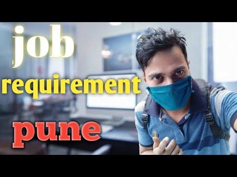 New job requirements | jobs in pune