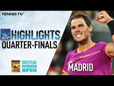 Highlights: Nadal Thiem Through To Semis In Madrid 2017