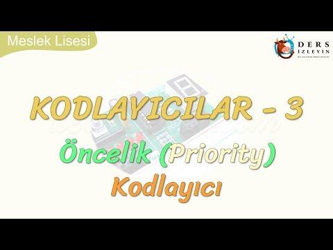 KODLAYICILAR-3 ÖNCELİK KODLAYICI