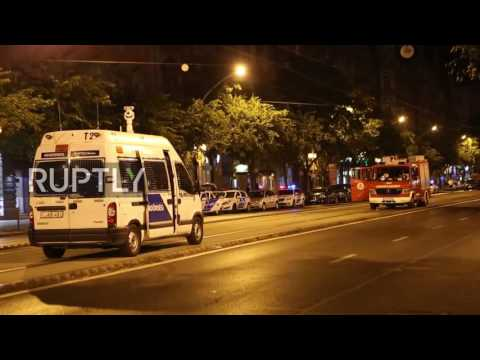 Hungary: Police cordon off parts of central Budapest after explosion