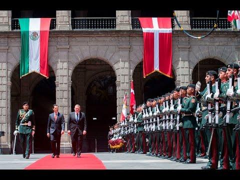 Ceremonia Bienvenida: Visita Oficial Primer Ministro de Dinamarca, Lars Lokke Rasmussen