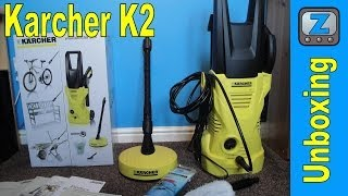 Karcher K2 Pressure Washer Unboxing and Demo