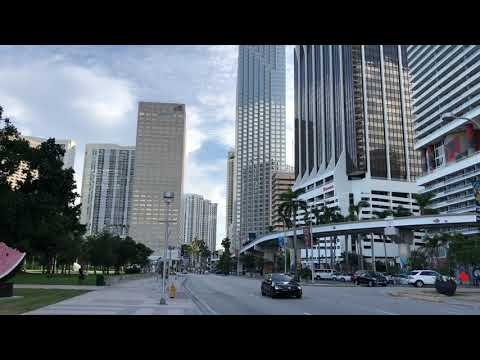 Metromover Miami Downtown.