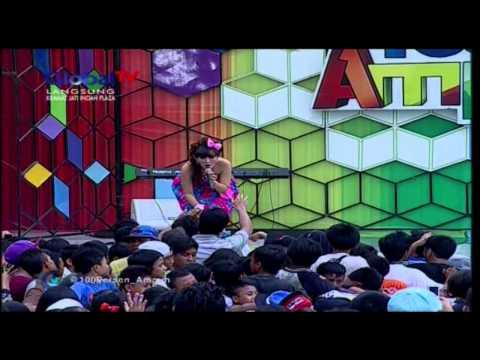 INDAH SARI Live At 100% Ampuh (13-02-2013) Courtesy GLOBAL TV