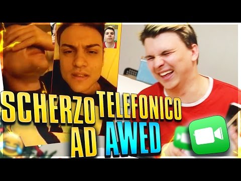 SCHERZO TELEFONICO AD AWED SU FACETIME ALLE 2 DI NOTTE