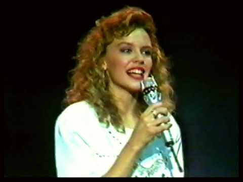 Kylie Minogue  Blame It On The Boogie Live Mike Walsh  1987