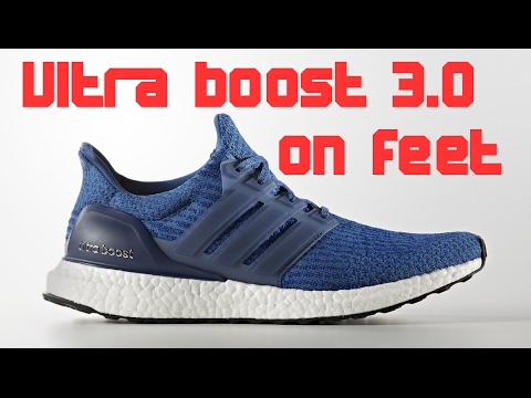 Adidas Ultra Boost 3.0 Blue Unboxing + On Feet