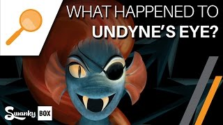 Undertale - What Happened to Undyne's Eye?