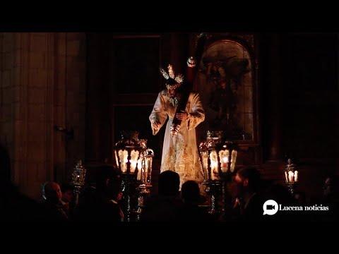 VÍDEO: Traslado de la imagen del Stmo. Cristo del Amor a su trono para su salida extraordinaria