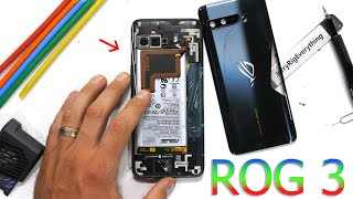 ROG Phone 3 Teardown! - Is the 'Cooling'  Inside Real?!