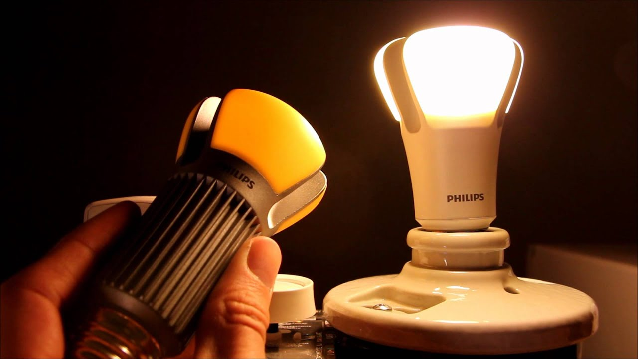 World 39 S Most Efficient Light Bulb Philips L Prize Led Bulb Review Youtube