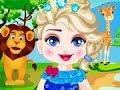 Disney puzzle  Games - Elsa Safari Slacking - Baby Games for Kids