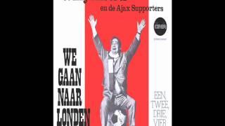 """Willy Alberti en de Ajax Supporters - Een, Twee, Drie, Vier (""""We Gaan Naar Londen"""" 1971)"""
