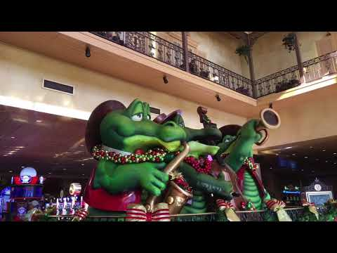 My Las Vegas vacation to the New Orleans hotel for Christmas