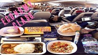 British Airways ECONOMY CLASS London to San Diego Boeing 777-300ER