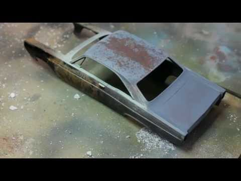 Scale Model Chipping Techniques explained