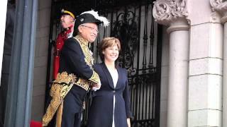 Lieutenant-Governor Arrives for Throne Speech 2011