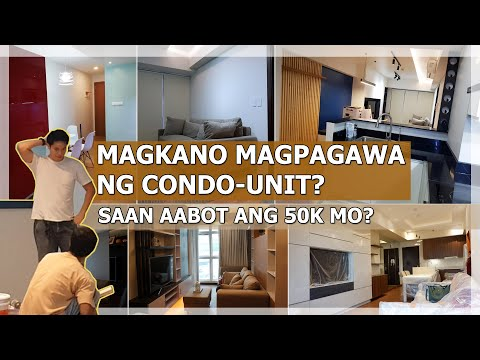 MAGKANO MAGPAGAWA NG CONDO UNIT? | CONSTRUCTION COST OF BASIC AND MID-END CONDO