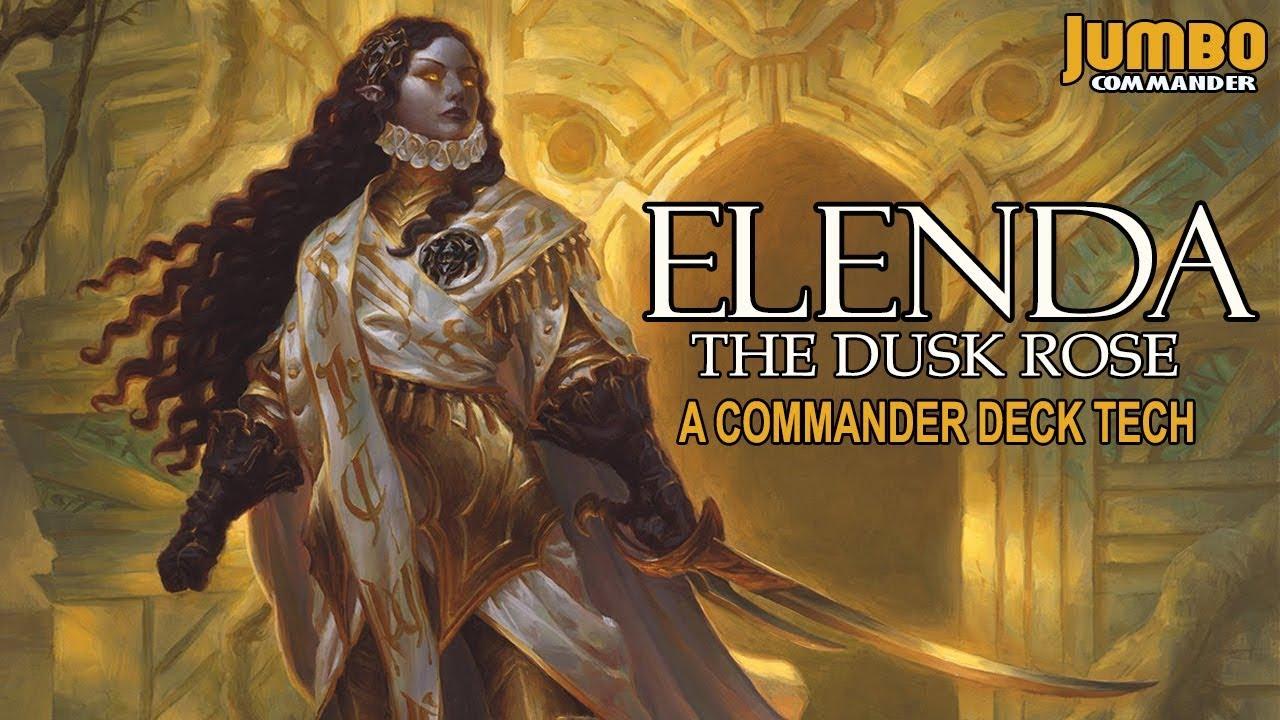 Elenda the dusk rose commander deck tech youtube for Commander rose
