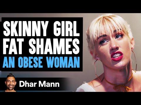 Skinny Girl Fat Shames Stranger, Instantly Regrets Her Decision   Dhar Mann