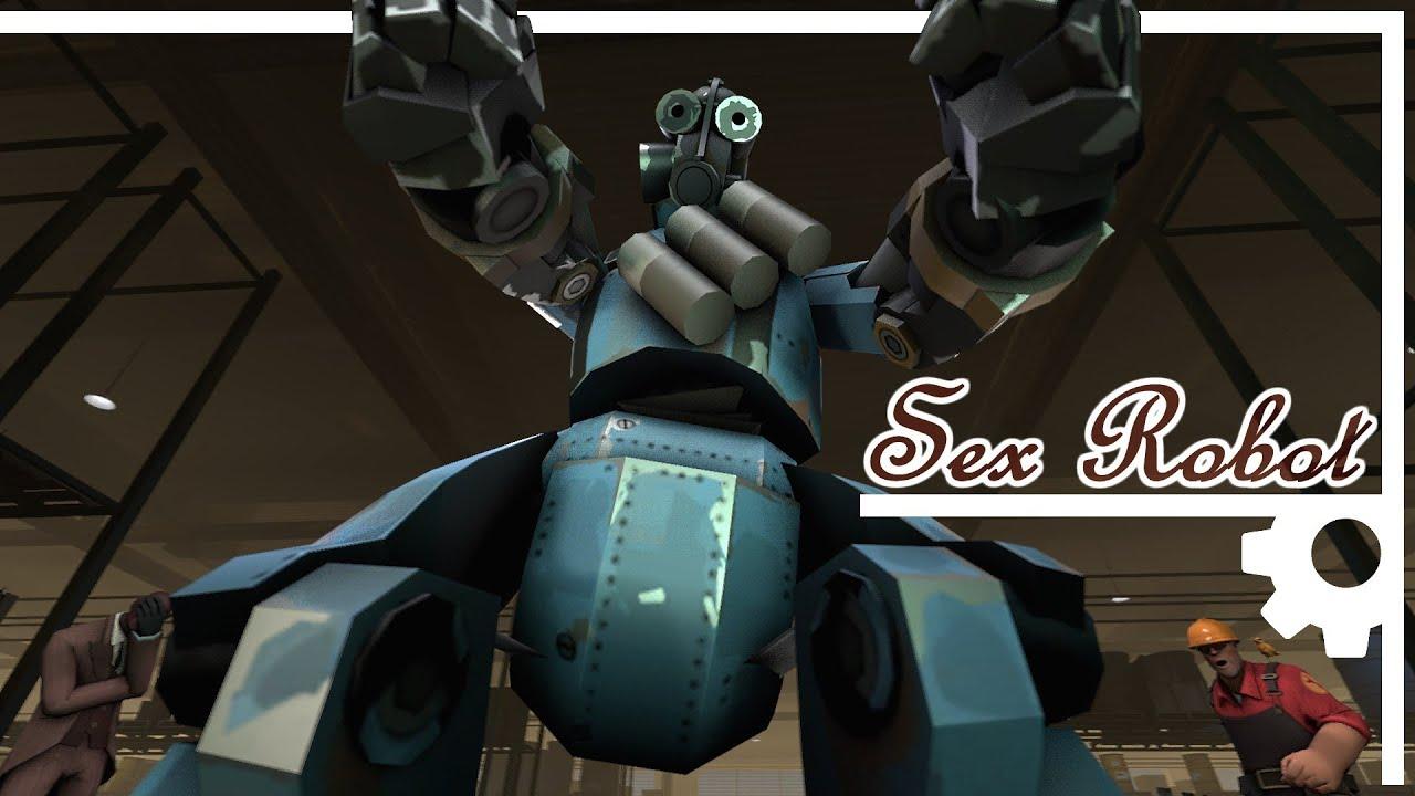 Робот игра секс