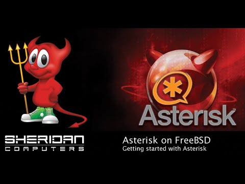 How to install Asterisk (PBX) on FreeBSD | Getting started with Asterisk