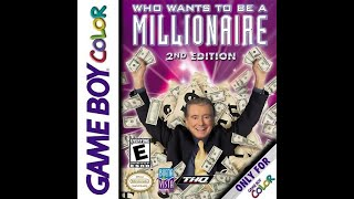 Game Boy Color Who Wants To Be a Millionaire 2nd Edition: Season #1, Episode #1
