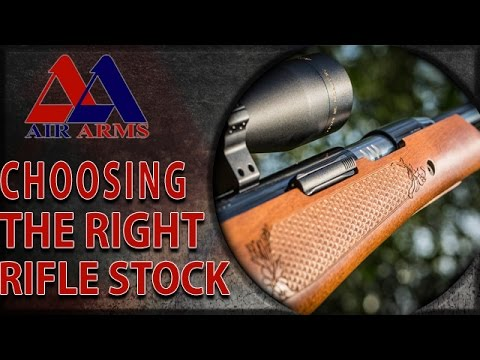 Choosing The Right Air Rifle Stock With Matt Dubber