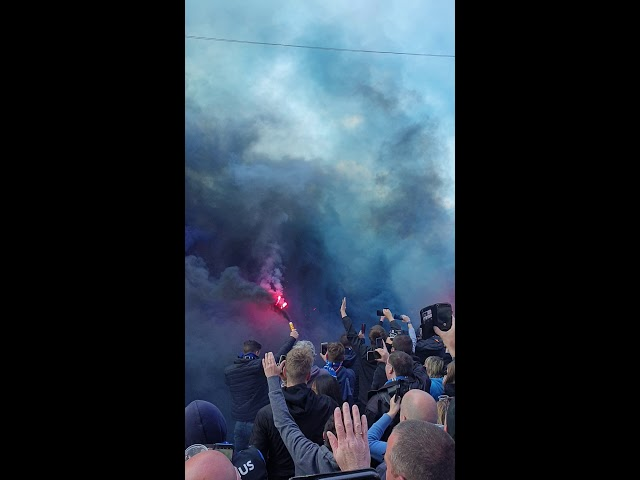 2018-2019 - Club Brugge-Racing Genk - Busopwachting