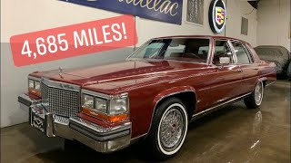 4,685 Mile 1988 Cadillac Brougham For Sale Specialty Motor Cars Pelham NH Fleetwood Royal Seals WOW