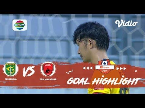 Persebaya (3) VS (2) PSM Makassar – Goal Highlight | Shopee Liga 1