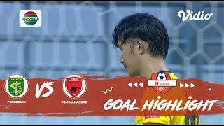 Persebaya (3) VS (2) PSM Makassar – Goal Highlight | Shopee Liga 1
