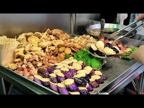 Hong Kong Street Food. The Stalls and Fresh Markets of Mong Kok