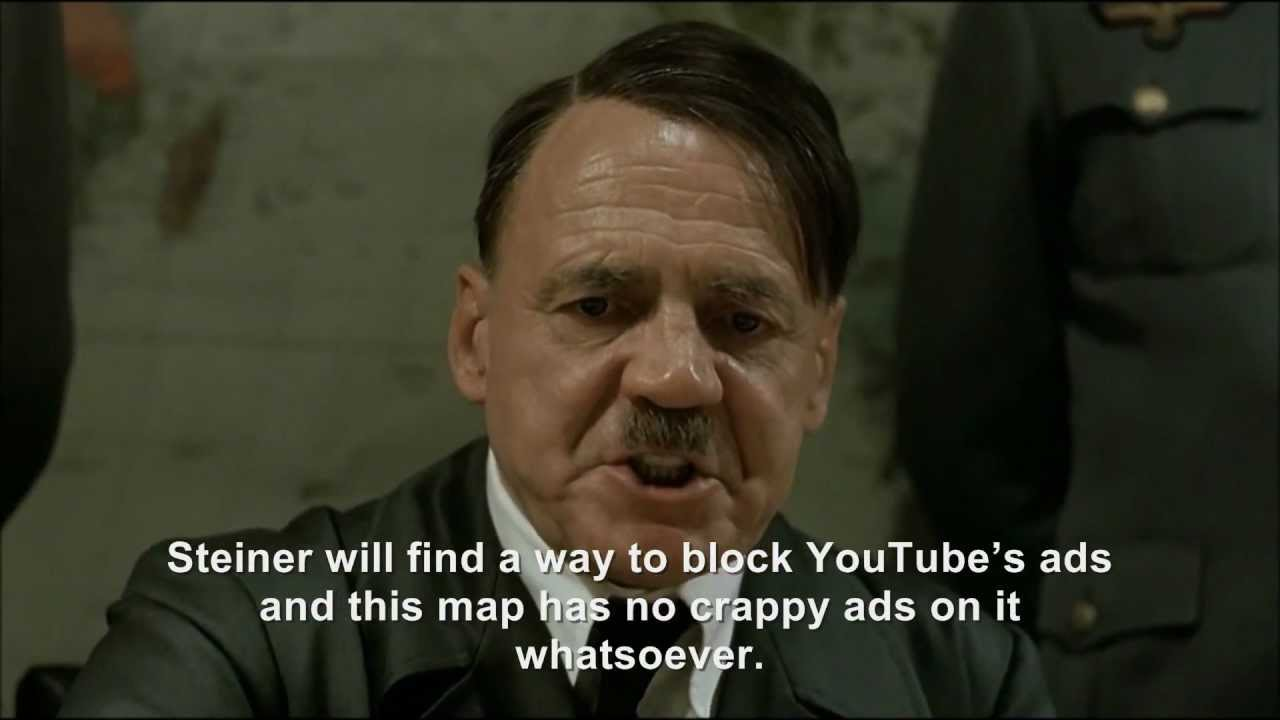 Hitler plans to block YouTube's ads