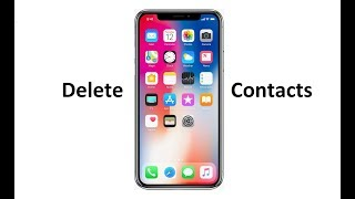 This tutorial will show you how to delete multiple or all contacts from your iDevice iPhone iPad and.