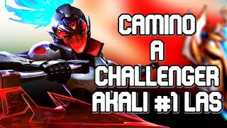 CAMINO A CHALLENGER! - AKALI #1 de LAS EN DIRECTO!
