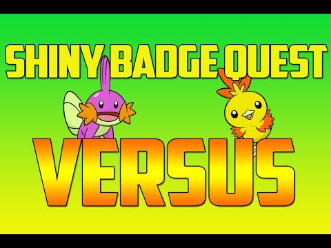 Pokemon ORAS Shiny Badge Quest Versus with JustPlayPokemon - RULES VIDEO