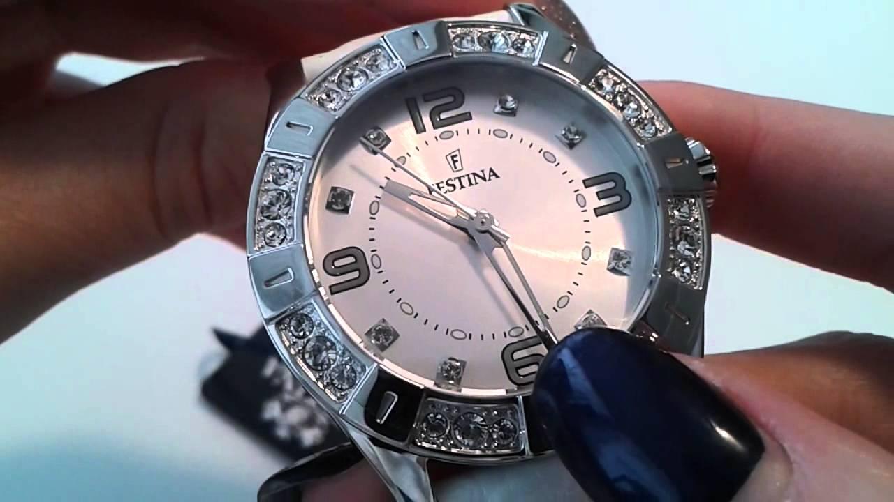 dámské hodinky FESTINA 16537 1 - YouTube 414c91c021