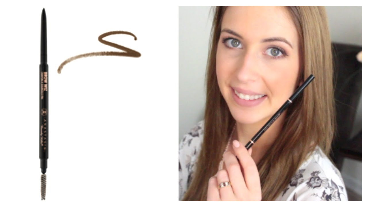 Anastasia Brow Wiz Review Makeup Minute Youtube