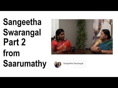 Carnatic Music with Sangeetha Swarangal Saarumathy 2