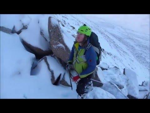 Christmas Winter Mountaineering Rope-work (27 Dec 2015)