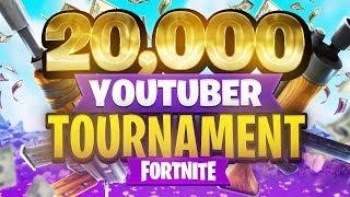 $20,000 YouTuber/Streamer FORTNITE TOURNAMENT (Week 4)