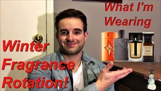 My Winter Fragrance Rotation 2017/18!
