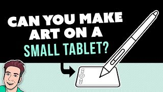 Can You Make Art on a SMALL Tablet?