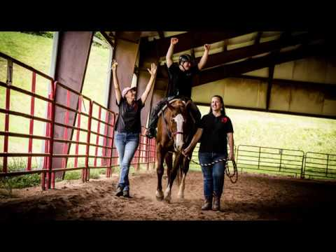 What is therapeutic horseback riding?