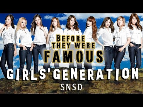 GIRLS' GENERATION - Before They Were Famous