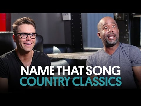 Bob Bones & Darius Rucker Play Name That Song: Country Classics
