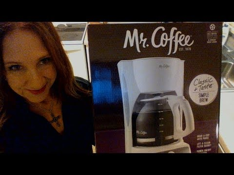Mr. Coffee Basic Coffee Maker | It Does What I Need It To Do
